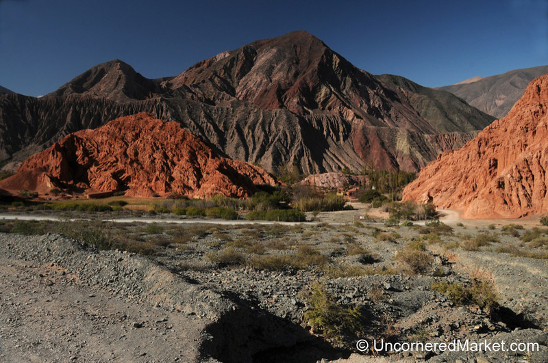 Different Shades of Red and Brown - Purmamarca, Argentina