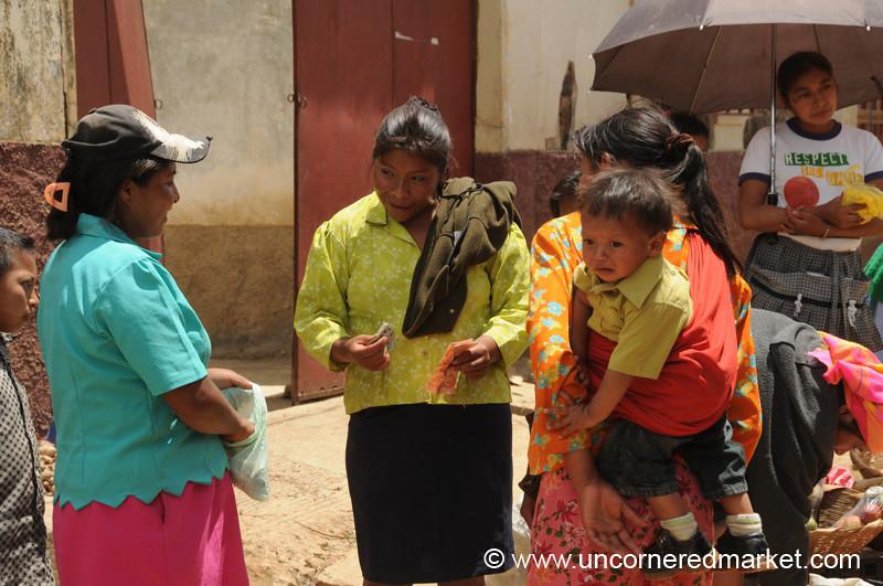 Indigenous Women at La Esperanza Market, Honduras