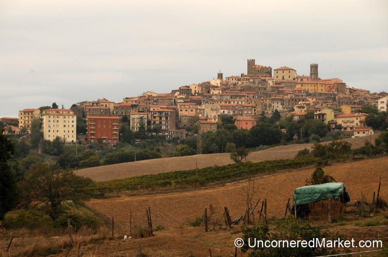 Manciano on the Hill - Maremma, Tuscany