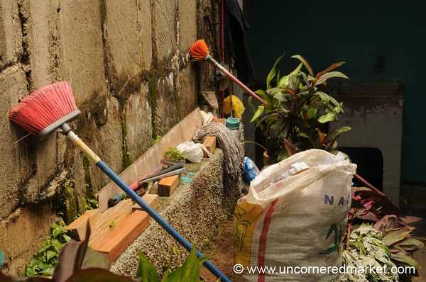 Cleaning Up - Masaya, Nicaragua