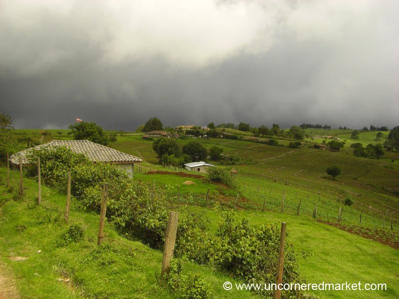 Fertile Ruta Lenca Countryside - Marcala, Honduras