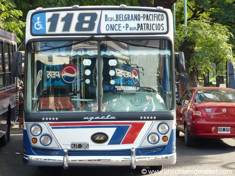 Buenos Aires Colectivo (Bus) - Argentina