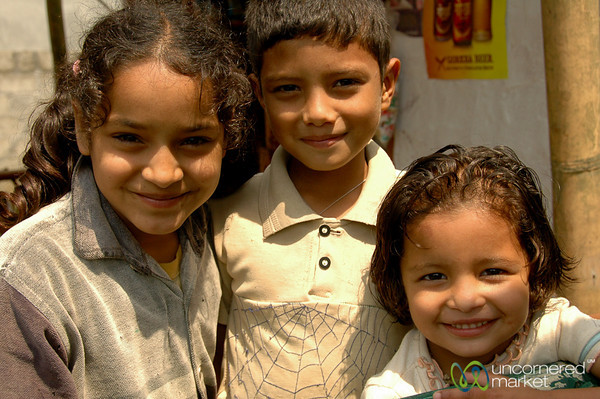Brother and Sisters - Pokhara, Nepal