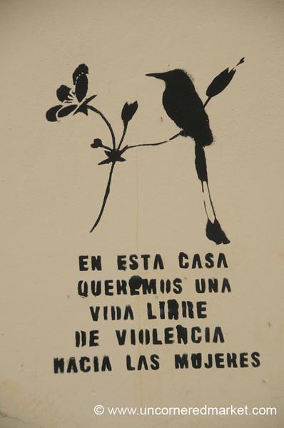 Women's Solidarity Symbol - Suchitoto, El Salvador