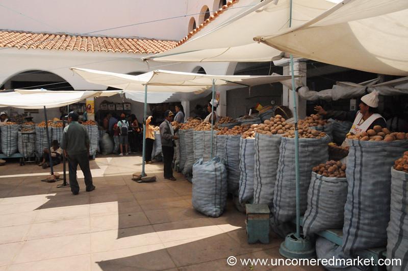 Potato Courtyard - Sucre, Bolivia