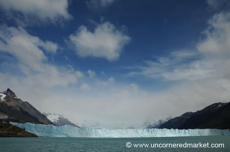 Perito Moreno Glacier Near El Calafate, Argentina.
