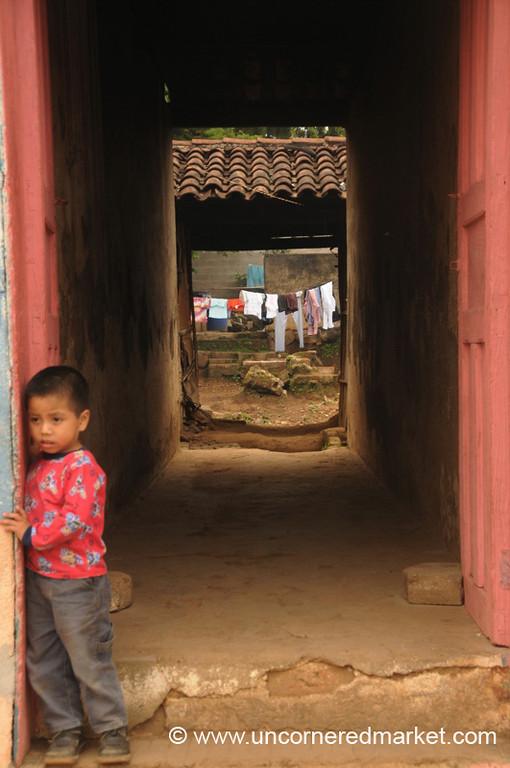 Little Boy - Ataco, El Salvador