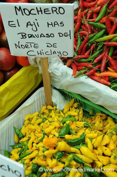 Mochero Chilies - Mistura Gastronomy Festival in Lima, Peru