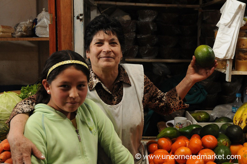 Mother, Daughter, Avocado - Cajamarca, Peru