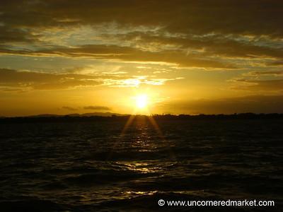 Sunset Over Lake Nicaragua