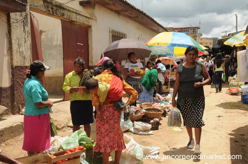 Street Market in La Esperanza, Honduras