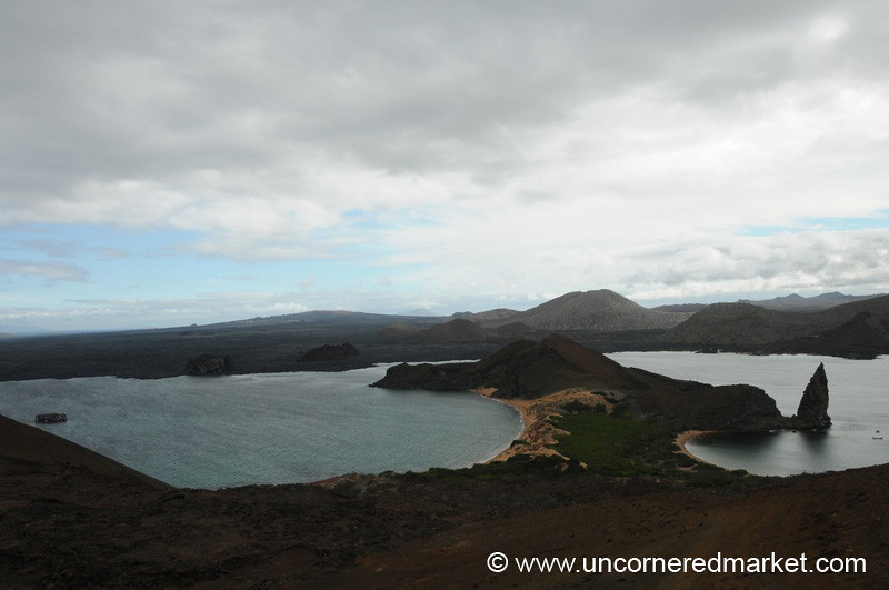 View from Bartolome Island - Galapagos