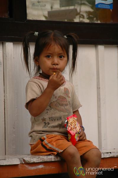 Snack Time - Annapurna Circuit, Nepal