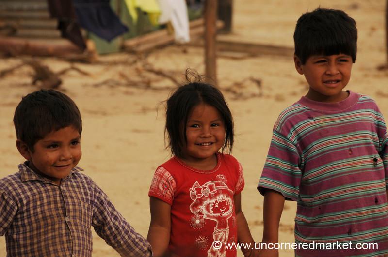 Playing Games - Tarija, Bolivia
