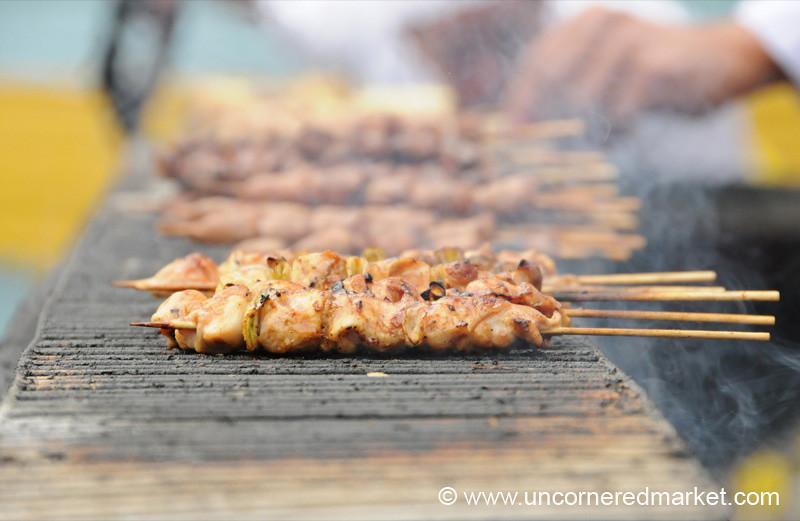 Fresh Off the Grill - Mistura Gastronomy Festival in Lima, Peru