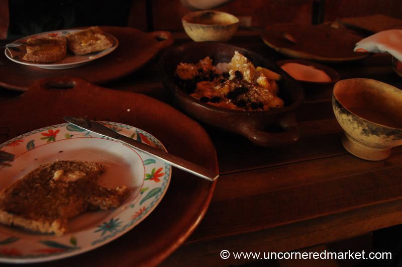 Rinconcito Graciano Breakfast - Gracias, Honduras