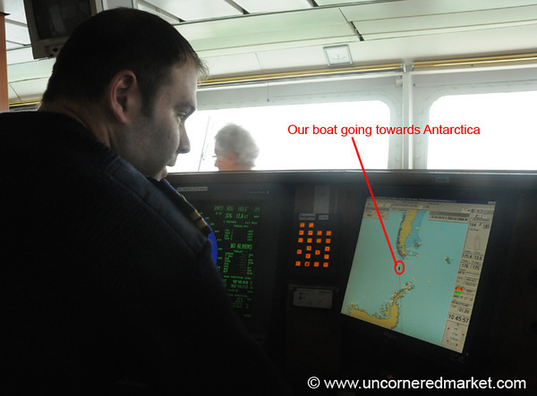 Tracking Our Boat's Progress to Antarctica
