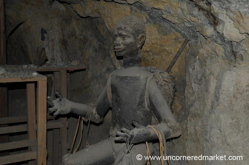 Remembering African Slaves - Potosi, Bolivia