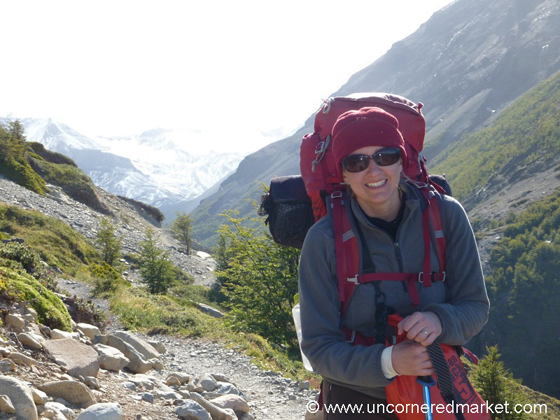 All Geared Up for Trekking Torres del Paine National Park in Chile