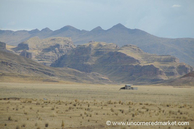 Lonesome - Puno, Peru to Copacabana, Bolivia