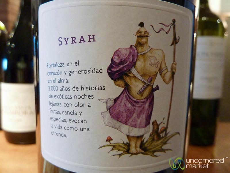 Personification of Syrah Wine - Mendoza, Argentina