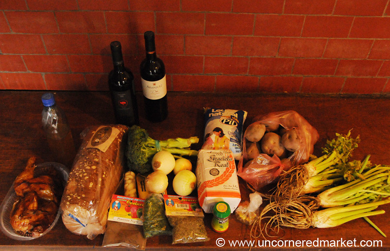 Ingredients for a Thanksgiving Feast - Sucre, Bolivia