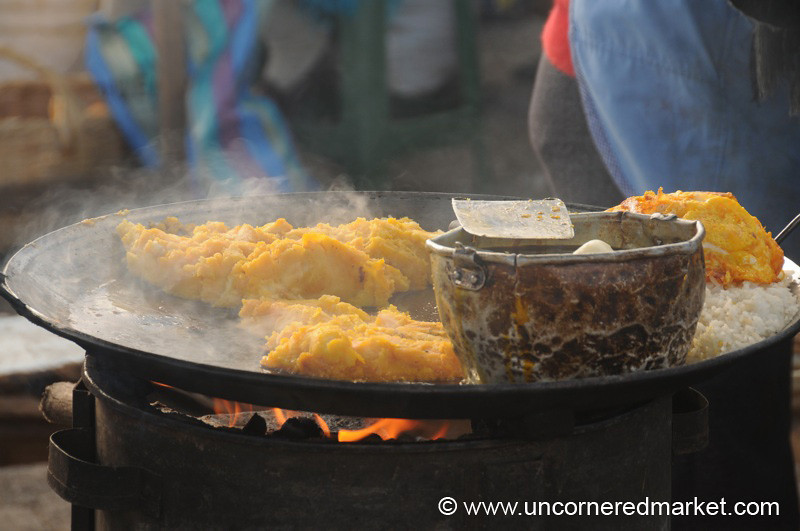 Fried Breakfast - Zumbahua, Ecuador