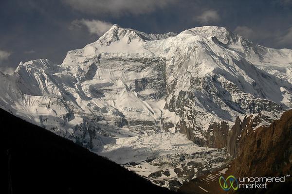 View of Annapurna 2 Peak -  Annapurna Circuit, Nepal