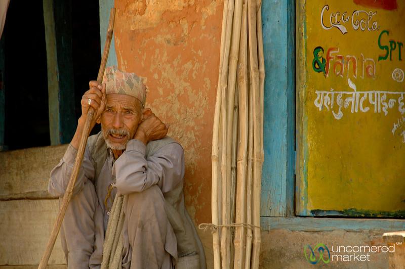 Waiting Around - Annapurna Circuit, Nepal