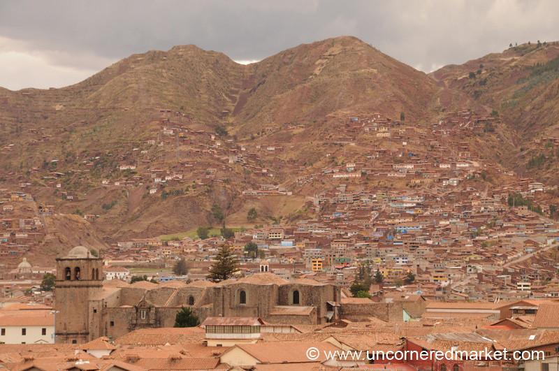 Birdseye View of Cusco, Peru