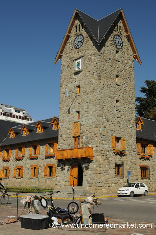 Bariloche Town Hall and Andean Music - Argentina