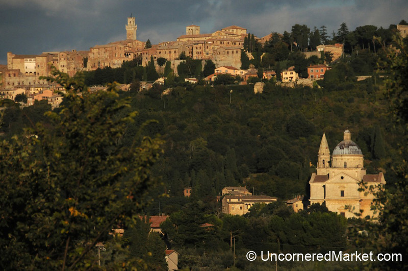 Montepulciano in Late Afternoon - Tuscany, Italy