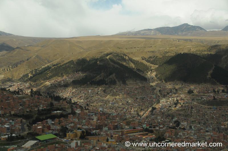 A View of La Paz from El Alto
