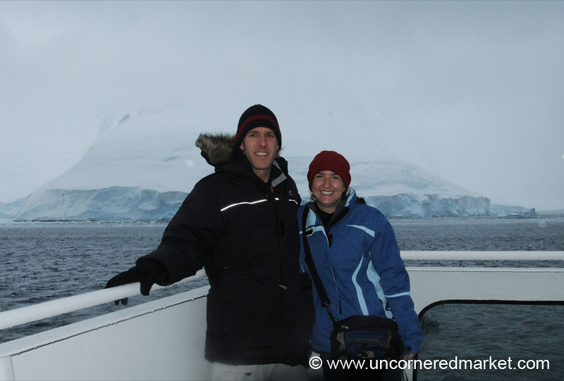Excited to Reach Land! Hanusse Bay, Antarctica