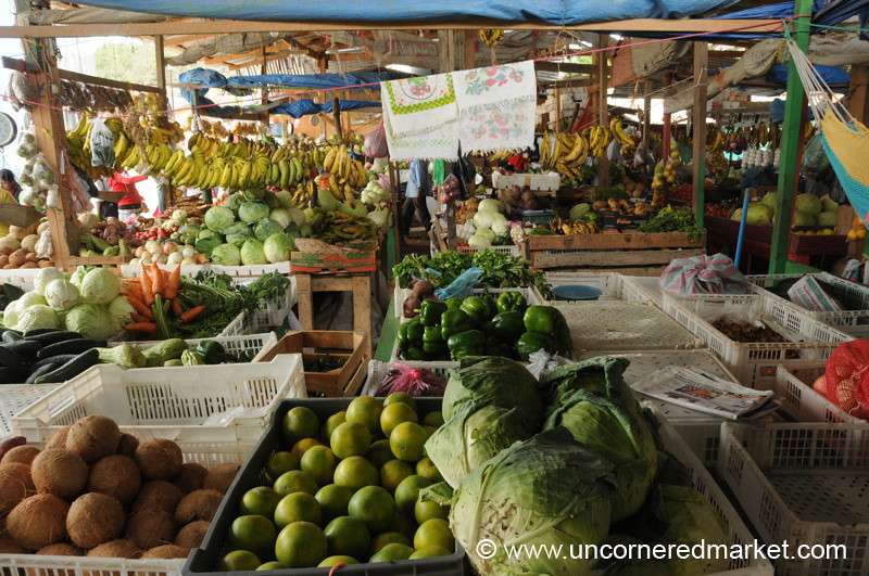 Fruits and Vegetables at Market - La Esperanza, Honduras