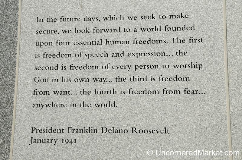 FDR's Four Freedoms - Scranton, Pennsylvania
