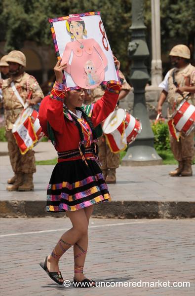 Pregnancy Awareness? Cusco, Peru
