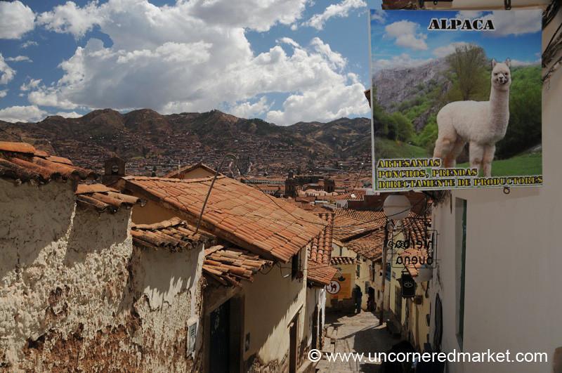 Alpaca Goods and Cusco - Peru
