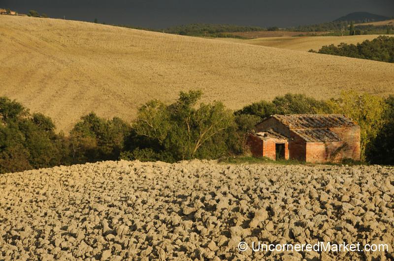 Lonely Farmhouse - Val d'Orcia, Tuscany
