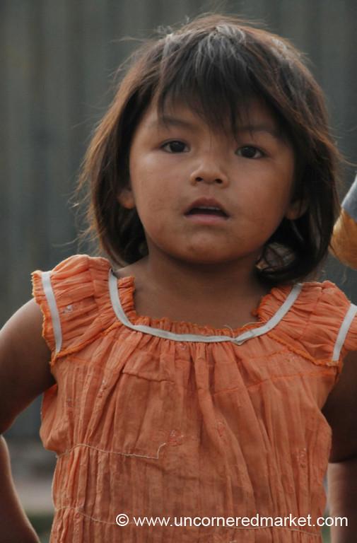 Young Face - Tarija, Bolivia