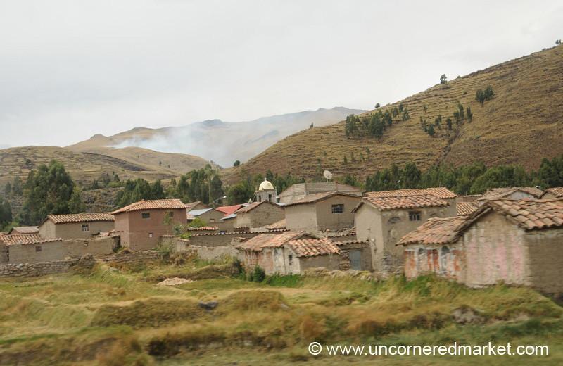 A Village Near Lake Titicaca - Puno, Peru to Copacabana, Bolivia