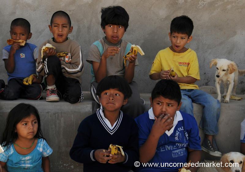 Breakfast Snack - Tarija, Bolivia