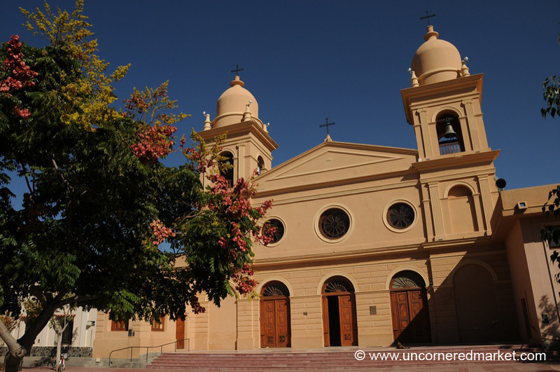 Cathedral in Cafayate, Argentina