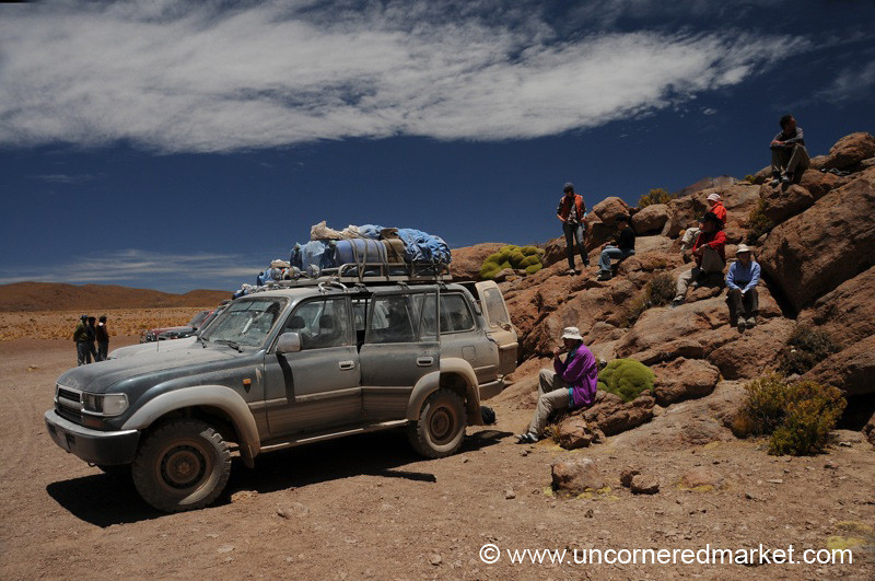 Lunch in the Desert - Salar Tour, Bolivia
