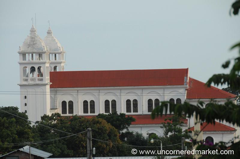 Juayua's Cathedral - Juayua, El Salvador