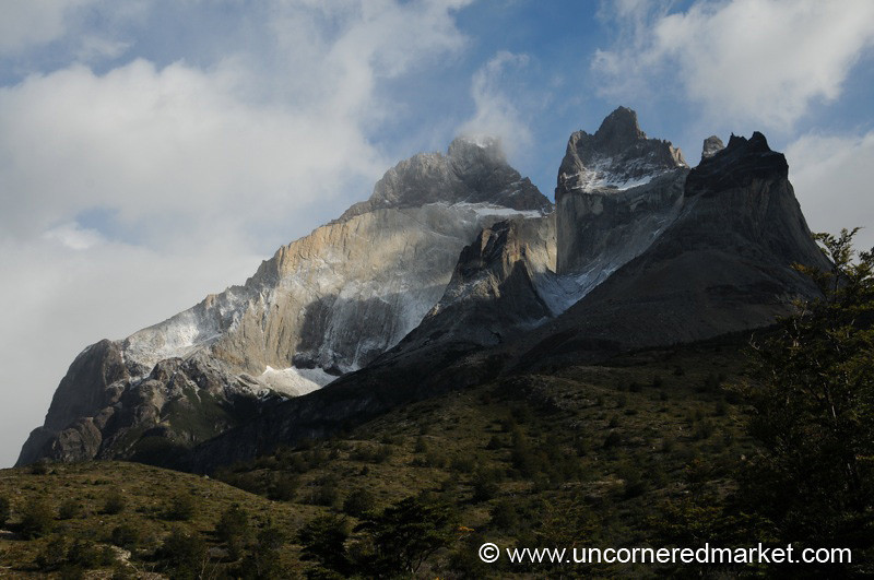 Mountain Vistas on the Torres del Paine Trek - Chile