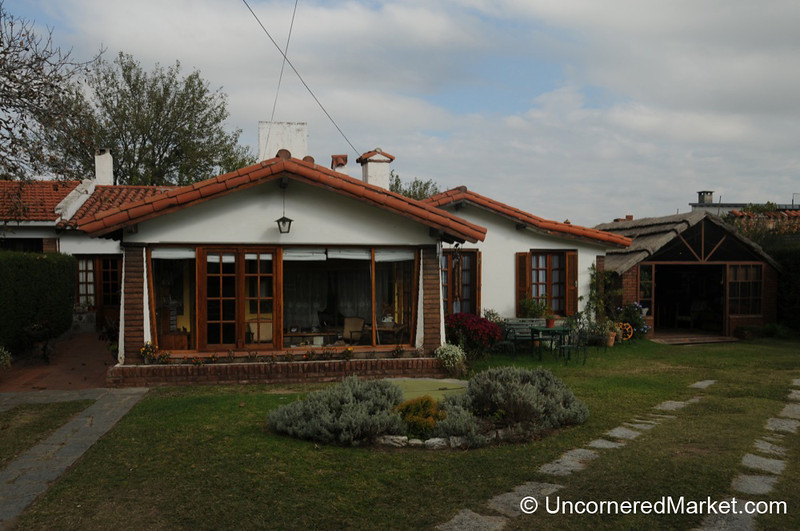 A View of Great Grandfather's House - La Falda, Argentina
