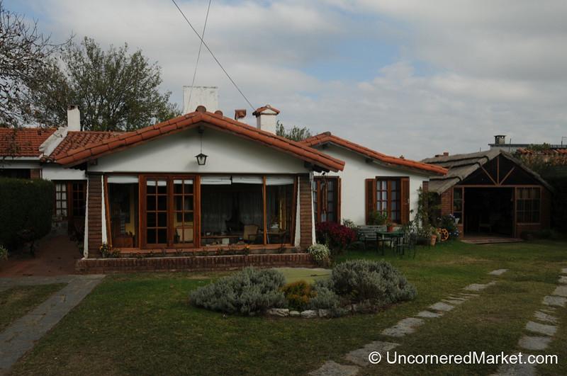 A View of Great Grandfather's House - La Falda, Argentina