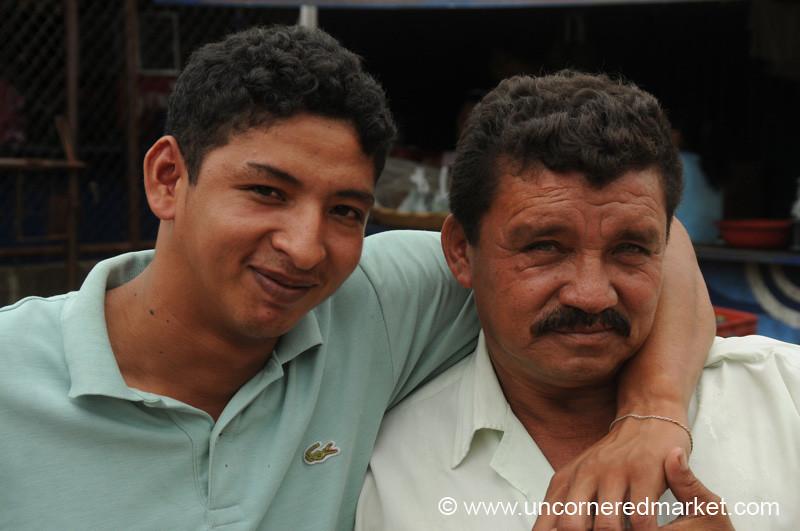 Father and Son - Granada, Nicaragua
