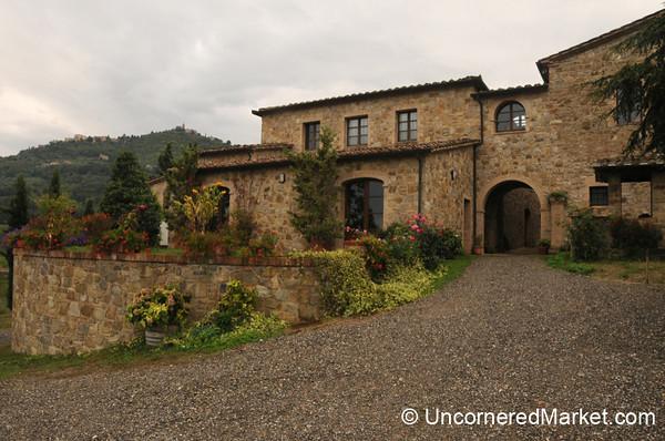 Capanna Winery - Near Montalcino, Italy